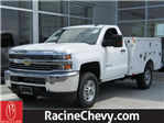 2017 Silverado 2500 Regular Cab 4x4, Brand FX Body Service Body #17CC627 - photo 1