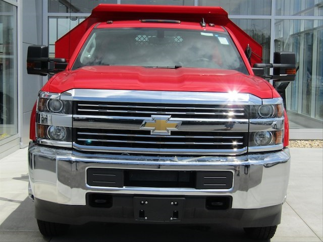 2017 Silverado 3500 Regular Cab DRW 4x4,  Knapheide Dump Body #17CC644 - photo 3