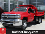 2017 Silverado 3500 Regular Cab DRW 4x4, Knapheide Dump Body #17CC644 - photo 1