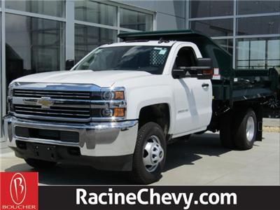 2017 Silverado 3500 Regular Cab DRW 4x4,  Knapheide Drop Side Dump Bodies Dump Body #17CC645 - photo 1