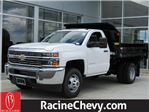 2017 Silverado 3500 Regular Cab DRW 4x4, Monroe Dump Body #17CC647 - photo 1