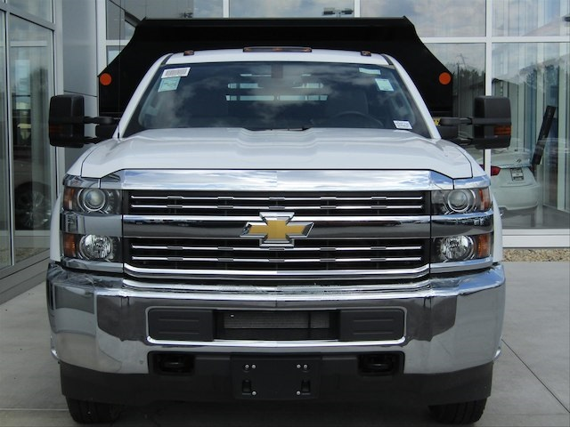 2017 Silverado 3500 Regular Cab DRW 4x4,  Monroe Dump Body #17CC789 - photo 3