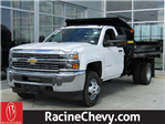 2017 Silverado 3500 Regular Cab DRW 4x4, Monroe Dump Body #17CC789 - photo 1