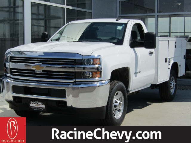 2017 Silverado 2500 Regular Cab 4x4,  Service Body #17CC927 - photo 2