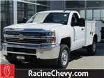 2017 Silverado 2500 Regular Cab 4x4,  Service Body #17CC927 - photo 1