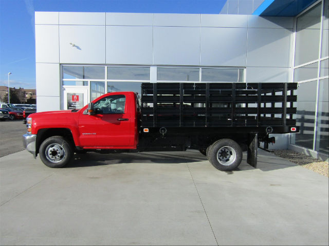 2018 Silverado 3500 Regular Cab DRW, Knapheide Stake Bed #18CC365 - photo 2