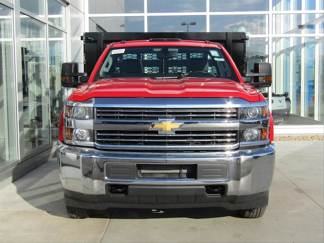 2018 Silverado 3500 Regular Cab DRW, Knapheide Stake Bed #18CC365 - photo 3