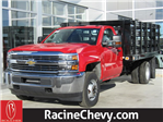 2018 Silverado 3500 Regular Cab DRW, Knapheide Stake Bed #18CC365 - photo 1