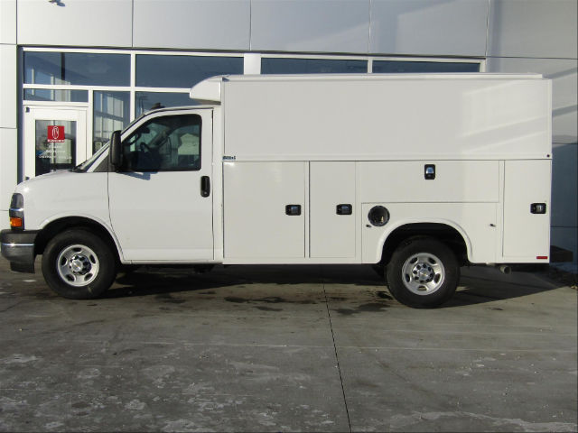 2018 Express 3500, Knapheide Service Utility Van #18CC380 - photo 2