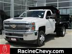 2018 Silverado 3500 Regular Cab DRW 4x4,  Monroe Dump Body #18CC812 - photo 1