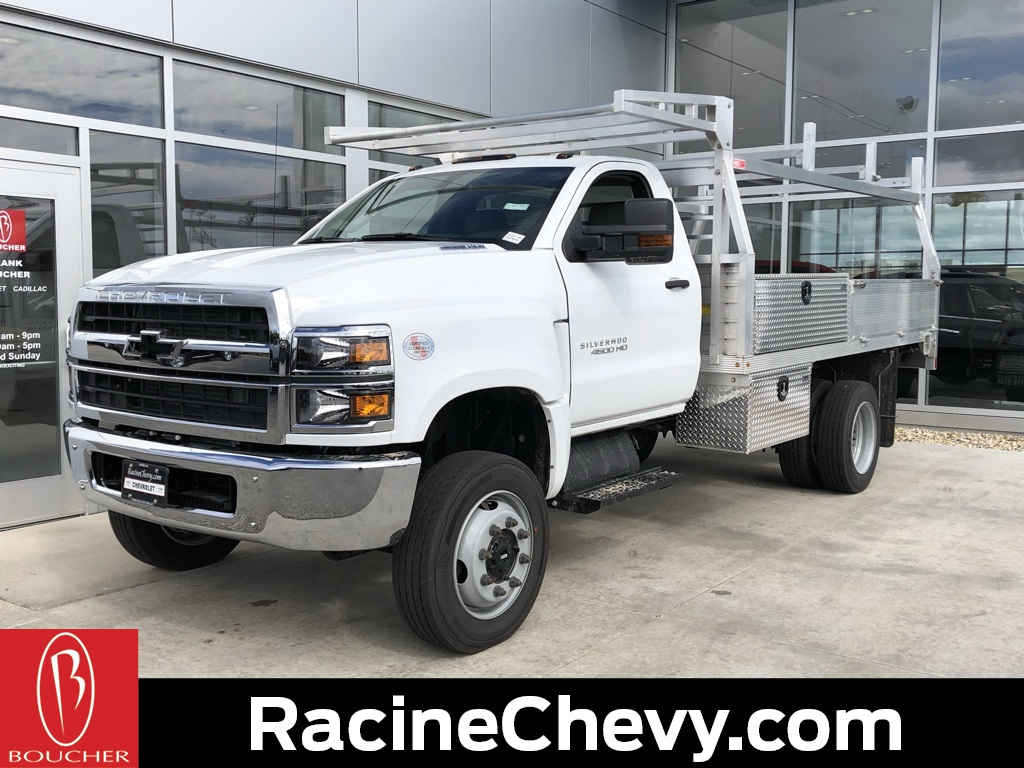 2019 Chevrolet Silverado 4500 Regular Cab DRW 4x4, Monroe Contractor Body #19CC776 - photo 1