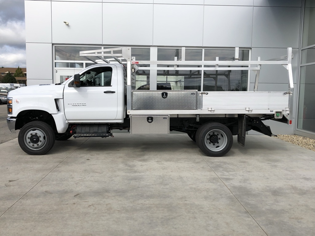 2019 Silverado 4500 Regular Cab DRW 4x4, Monroe Contractor Body #19CC776 - photo 1