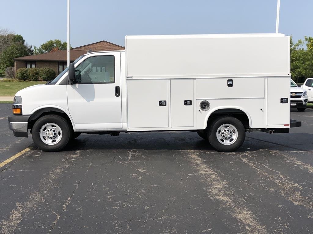 2020 Chevrolet Express 3500 4x2, Knapheide Service Utility Van #20CC695 - photo 1