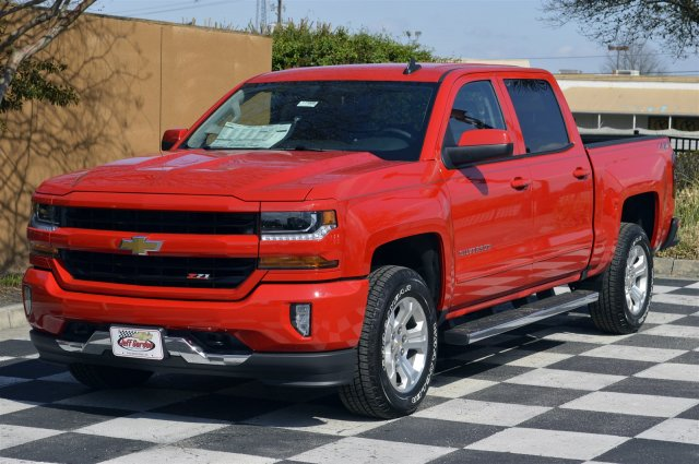 2018 Silverado 1500 Crew Cab 4x4,  Pickup #DT1668 - photo 3
