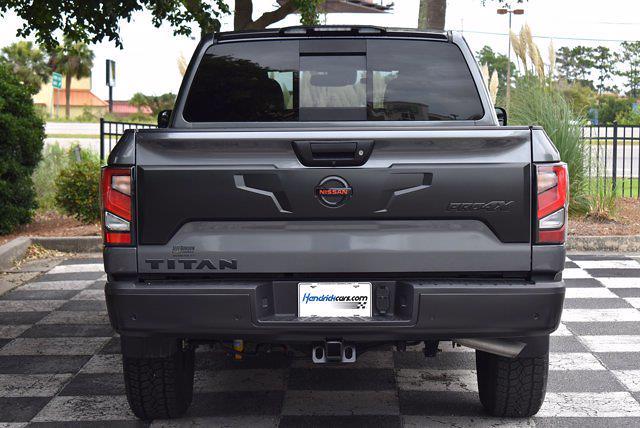 2020 Nissan Titan Crew Cab 4x4, Pickup #M11060A - photo 7