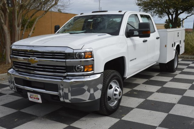 2016 Silverado 3500 Crew Cab 4x4, Service Body #MR2755 - photo 3