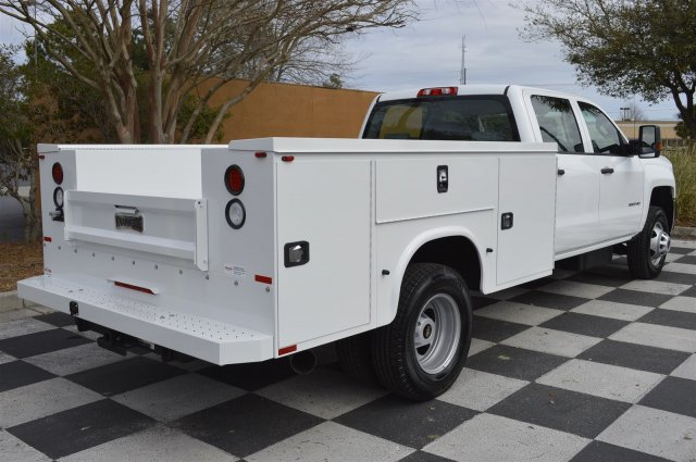 2016 Silverado 3500 Crew Cab 4x4, Service Body #MR2755 - photo 2