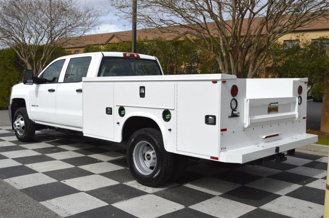 2016 Silverado 3500 Crew Cab 4x4, Service Body #MR2755 - photo 5