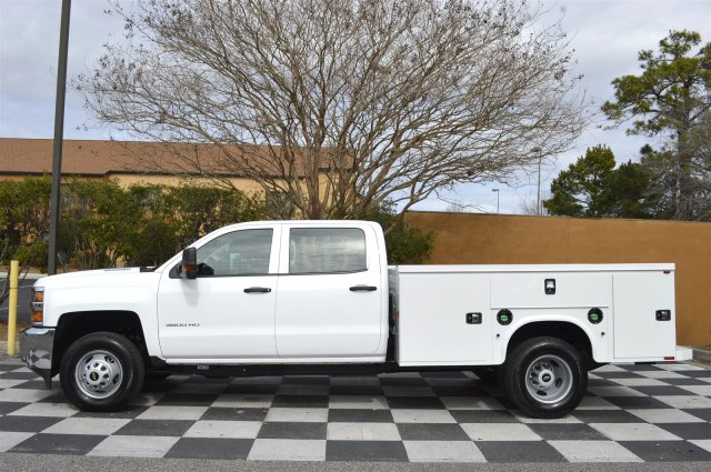 2016 Silverado 3500 Crew Cab 4x4, Service Body #MR2755 - photo 7