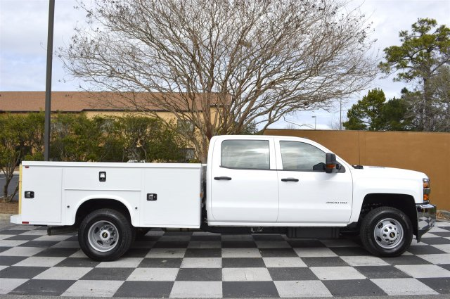 2016 Silverado 3500 Crew Cab 4x4, Service Body #MR2755 - photo 8