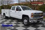 2016 Silverado 3500 Crew Cab 4x4, Service Body #MR2755 - photo 1