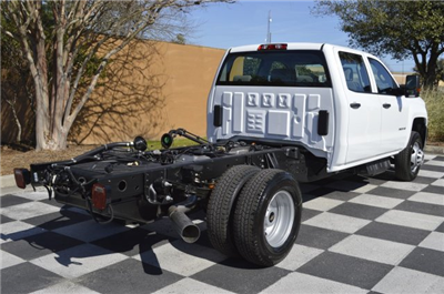 2017 Silverado 3500 Crew Cab 4x4, Cab Chassis #MS1757 - photo 2