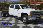 2017 Silverado 3500 Crew Cab 4x4, Cab Chassis #MS1757 - photo 1