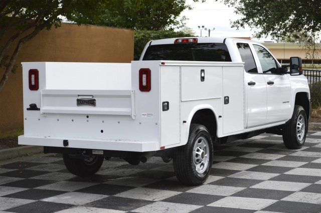 2019 Silverado 2500 Double Cab 4x4,  Knapheide Service Body #MU1234 - photo 2