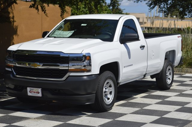 2018 Silverado 1500 Regular Cab 4x4, Pickup #T1101 - photo 3