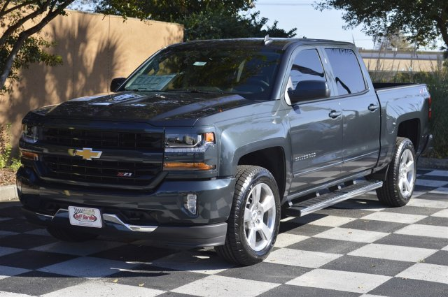 2018 Silverado 1500 Crew Cab 4x4 Pickup #T1342 - photo 3