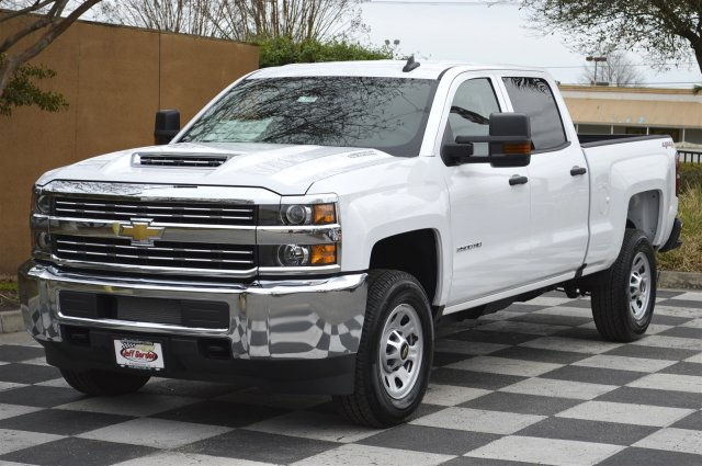 2018 Silverado 2500 Crew Cab 4x4, Pickup #T1693 - photo 3