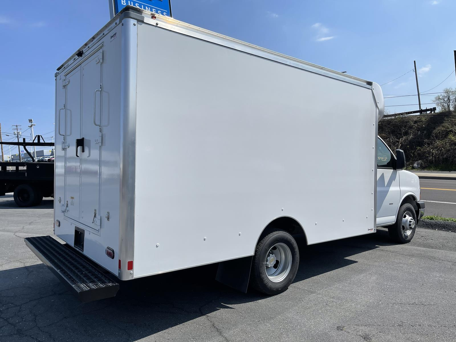 2020 Chevrolet Express 3500 4x2, 12' Supreme Spartan Cutaway Cargo Body #205928 - photo 2