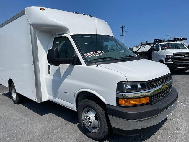 2020 Chevrolet Express 3500 4x2, 12' Supreme Spartan Cutaway Cargo Body #205928 - photo 13
