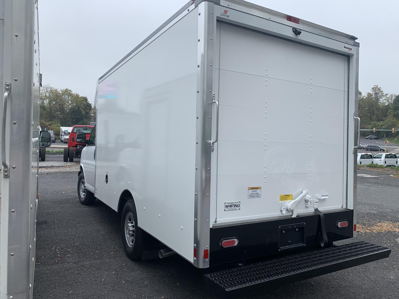 2020 Chevrolet Express 3500 4x2, 12' Supreme Spartan Cutaway Cargo Body Roll-Up Door #205932 - photo 1