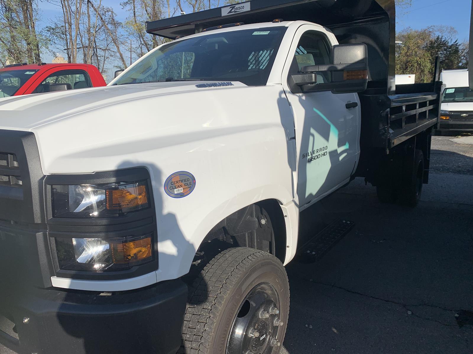 2020 Chevrolet Silverado 5500 Regular Cab DRW 4x4, 11' Rugby Hard Hat Z-Spec Dump Body, Model CHD4000SGCD #205946 - photo 3