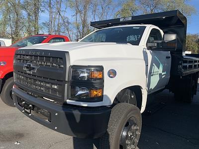 2020 Chevrolet Silverado 5500 Regular Cab DRW 4x4, 11' Rugby Hard Hat Z-Spec Dump Body, Model CHD4000SGCD #205946 - photo 1
