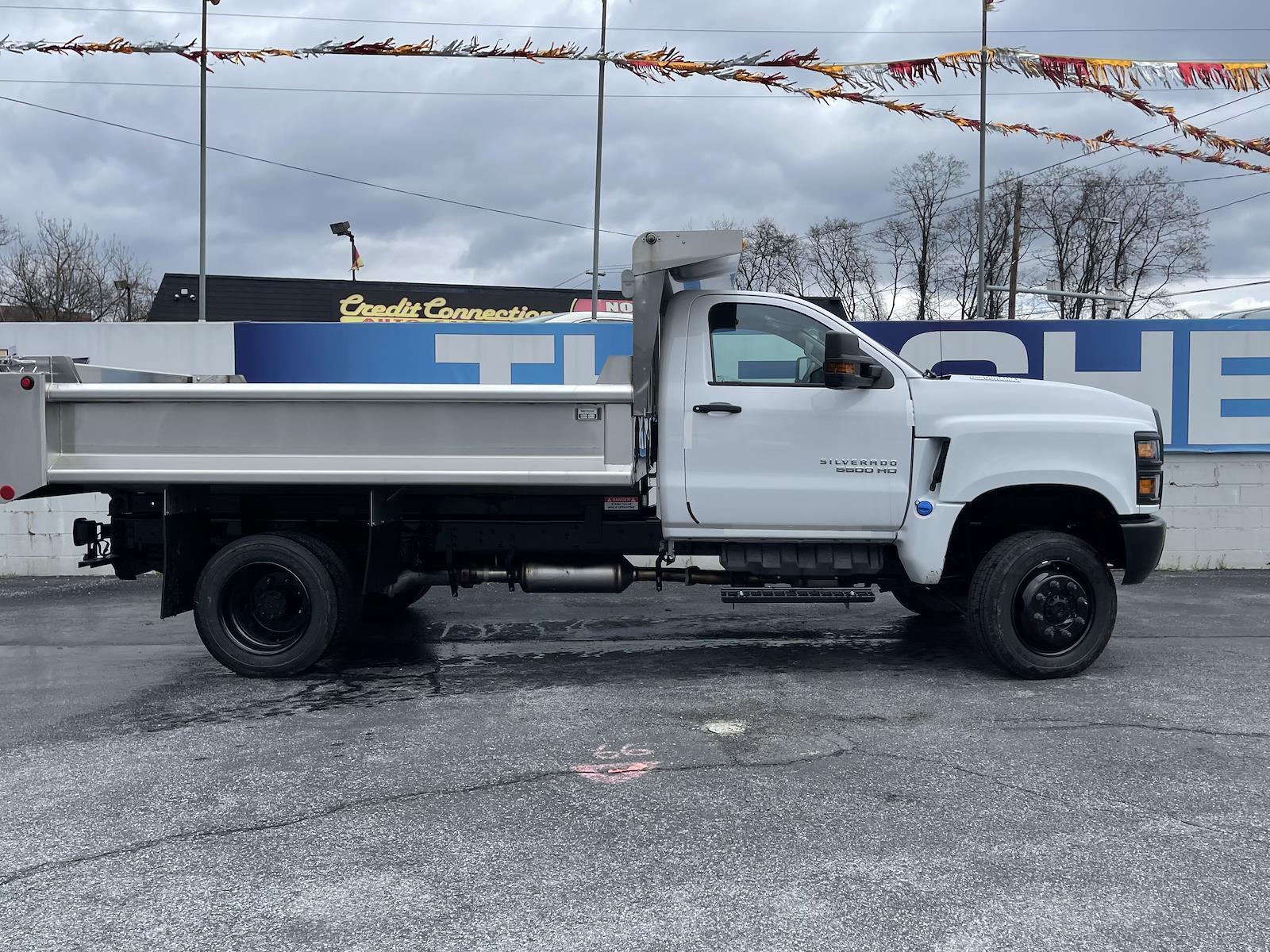 2020 Chevrolet Silverado 4500 Regular Cab DRW 4x4, Galion Dump Body #205977 - photo 5