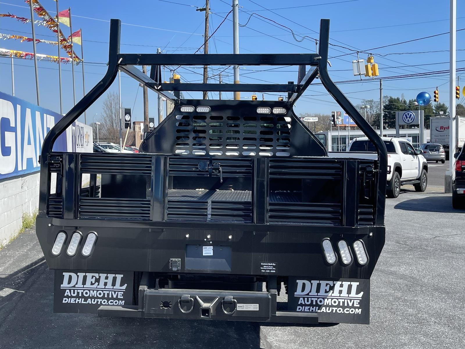 2020 Chevrolet Silverado 4500 Regular Cab DRW 4x2, Mike's Truck Service and Sales Inc. Contractor Body #205978 - photo 7