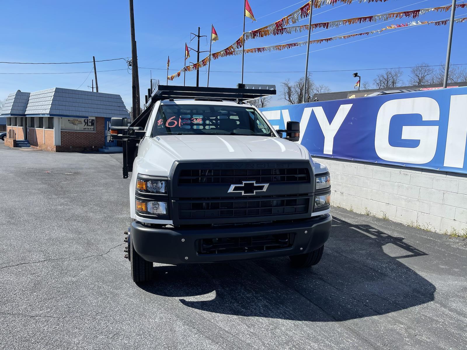 2020 Chevrolet Silverado 4500 Regular Cab DRW 4x2, Mike's Truck Service and Sales Inc. Contractor Body #205978 - photo 9