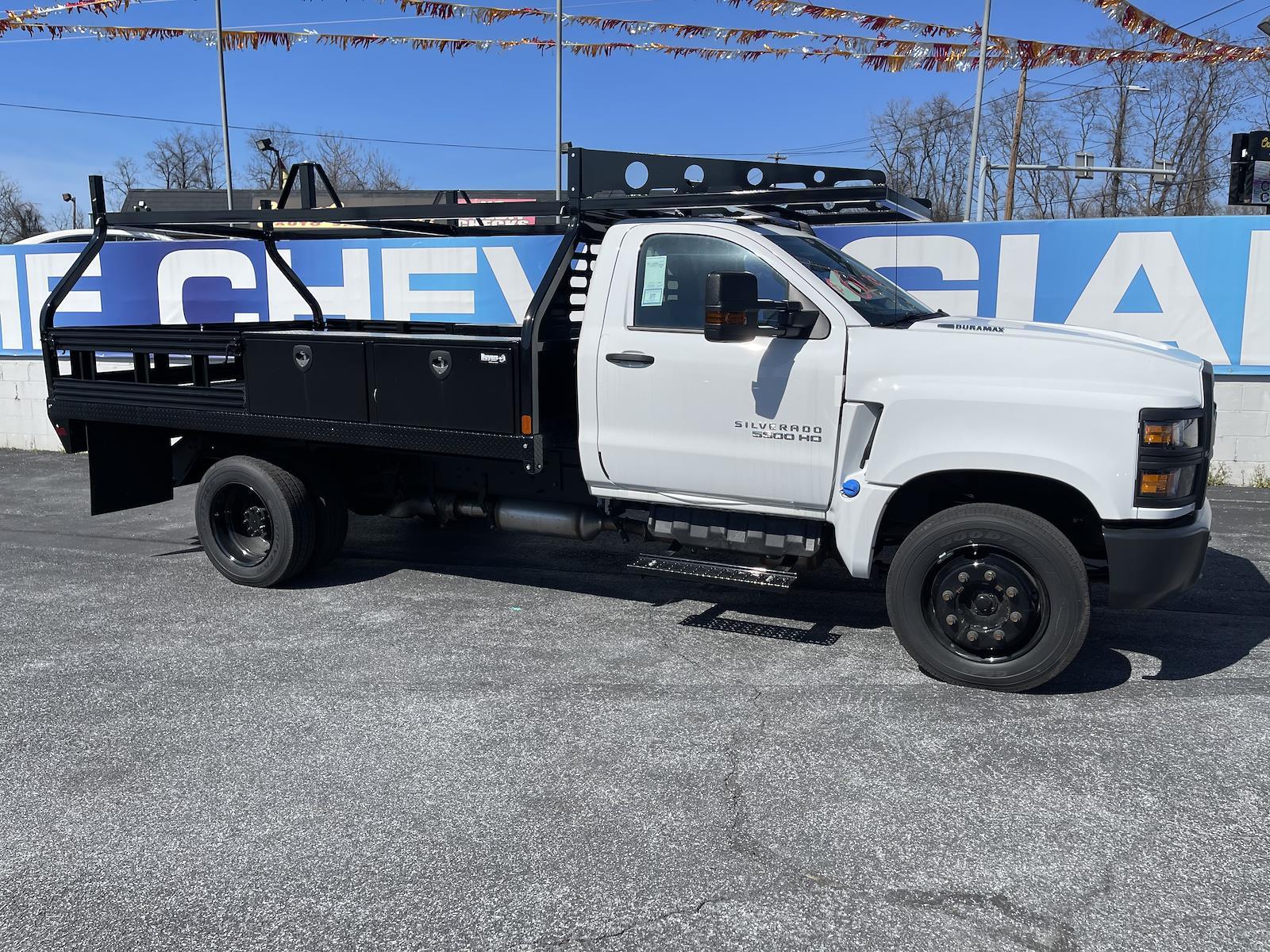 2020 Chevrolet Silverado 4500 Regular Cab DRW 4x2, Mike's Truck Service and Sales Inc. Contractor Body #205978 - photo 10
