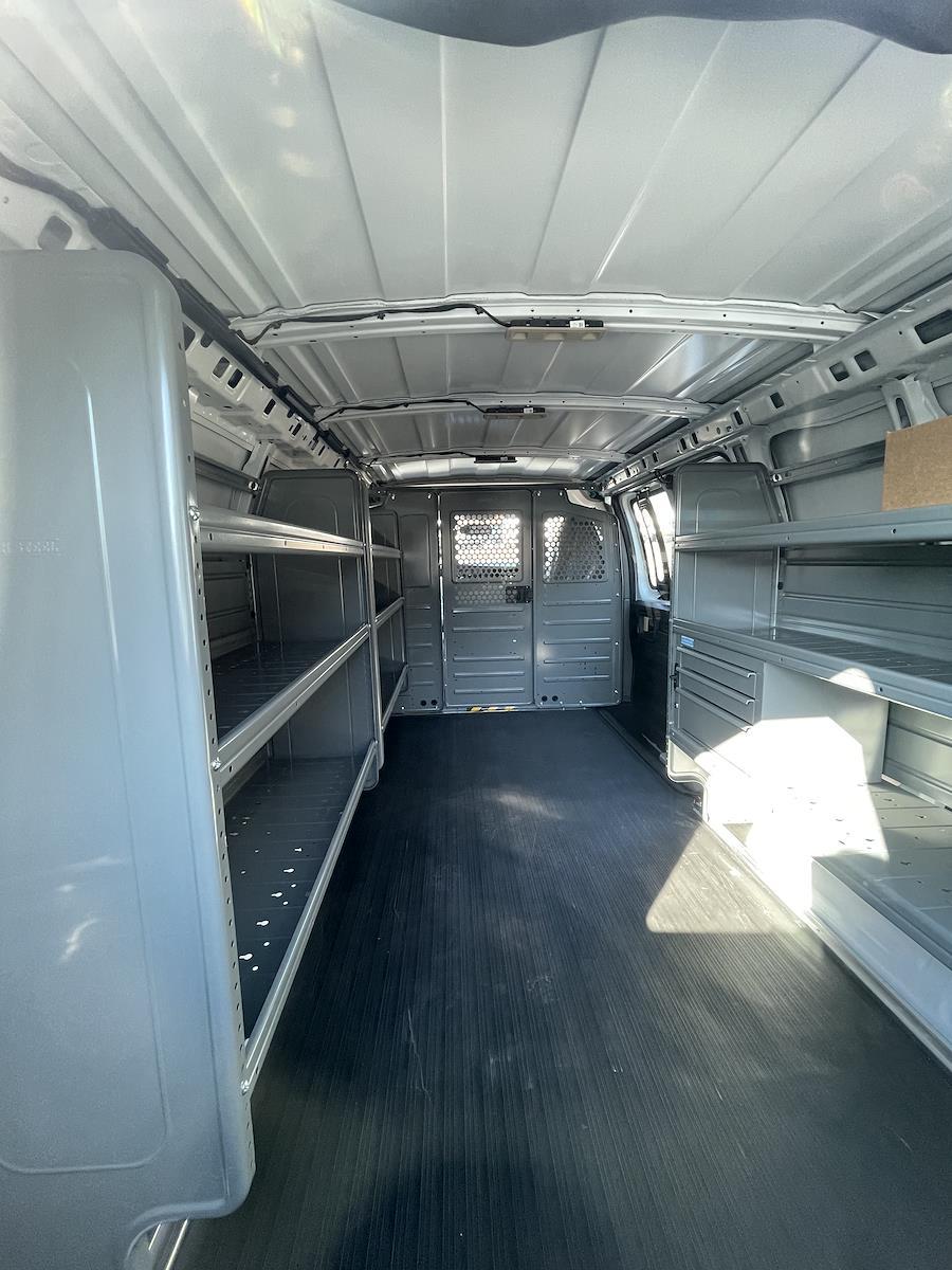 2021 Chevrolet Express 3500 4x2, Adrian Steel Upfitted Cargo Van #215440 - photo 1