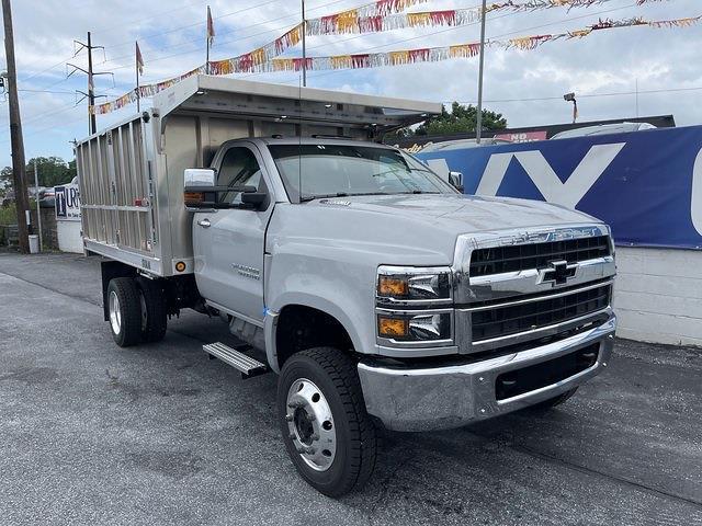 2021 Chevrolet Silverado 4500 Regular Cab DRW 4x4, TruckCraft Landscape Dump #215524 - photo 11