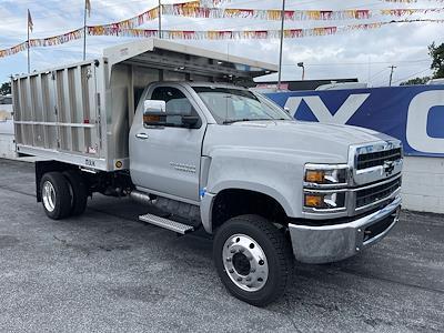 2021 Chevrolet Silverado 4500 Regular Cab DRW 4x4, TruckCraft Landscape Dump #215524 - photo 1