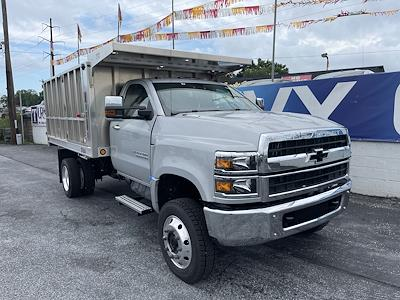 2021 Chevrolet Silverado 4500 Regular Cab DRW 4x4, TruckCraft Landscape Dump #215524 - photo 4