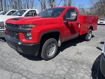2021 Chevrolet Silverado 2500 Regular Cab 4x4, Service Body #215532 - photo 1