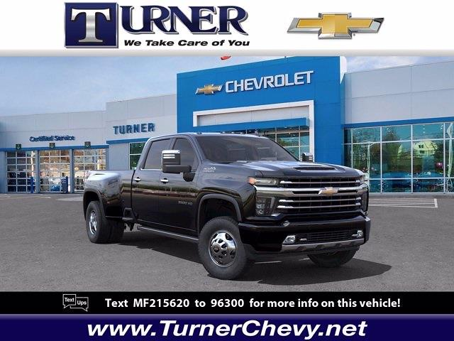 2021 Chevrolet Silverado 3500 Crew Cab 4x4, Pickup #215556 - photo 1