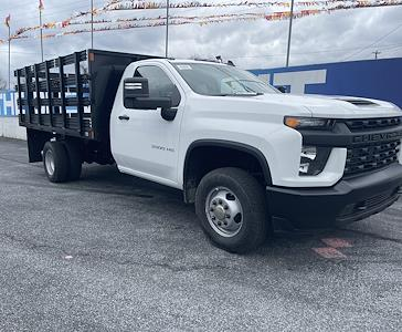 2021 Chevrolet Silverado 3500 Regular Cab 4x4, Stake Bed #215563 - photo 1