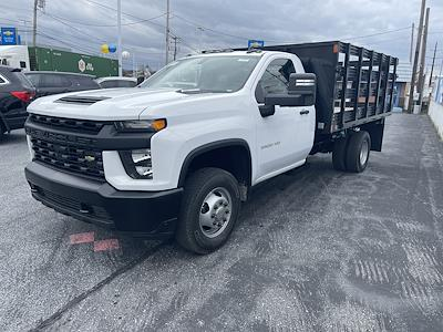2021 Chevrolet Silverado 3500 Regular Cab 4x4, Stake Bed #215563 - photo 7