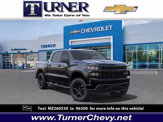 2021 Chevrolet Silverado 1500 Crew Cab 4x4, Pickup #215570 - photo 1