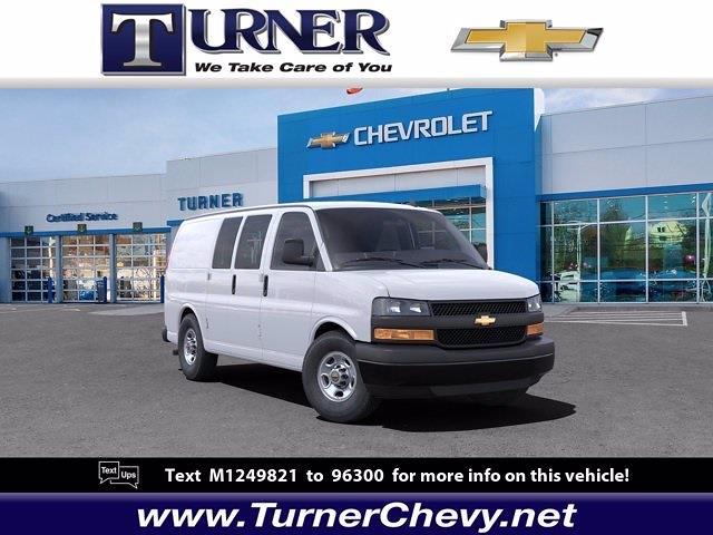 2021 Chevrolet Express 3500 4x2, Empty Cargo Van #215698 - photo 1